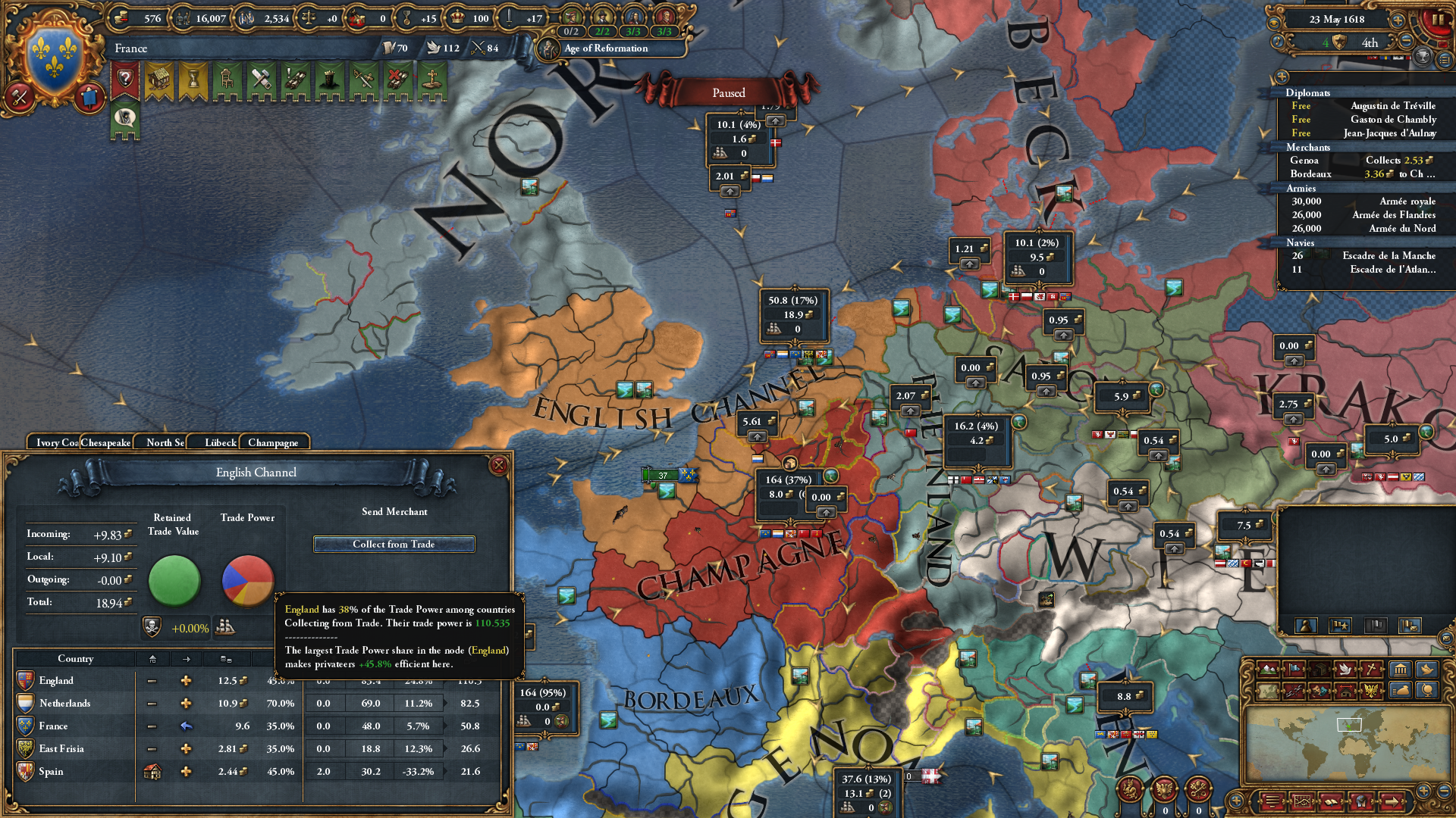 Honours Blog #8 – Intro to EU4 and Paradox Interactive
